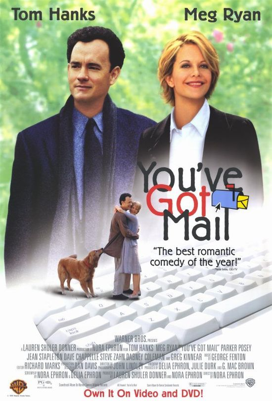 You've Got Mail - Tom Hanks Meg Ryan #Korean Films Photos