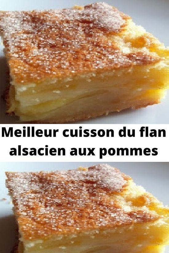 Il s'agit de la meilleur cuisson du flan alsacien aux pommes, La recette suivante est un vrai régal pour tous ceux qui aiment la pomme.  l'Alsace la Terre de gastronomie par excellence offre une multitude de recettes originales salées ou sucrées pour varier votre quotidien.
