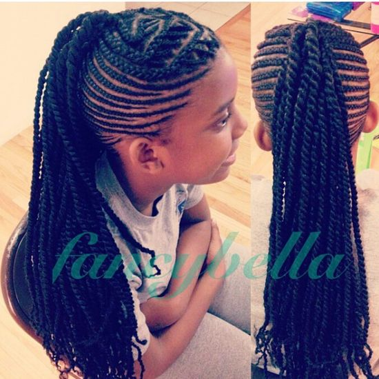Girl Hairstyle ... Natural Kids Hair Style