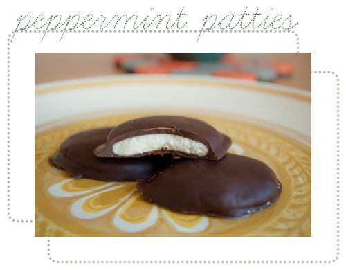 Homemade Peppermint Patties Recipe = YUM! #dessert #recipes