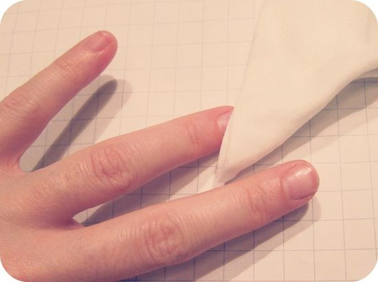 How to Remove Glitter Nail Polish or Dark Nail Polish In One Swipe (Yes, This Tr