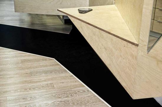 Optical Store Floor Interior Design
