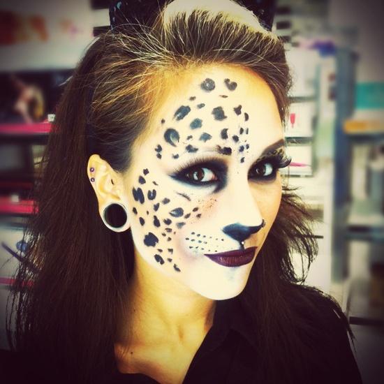 Halloween makeup like this.