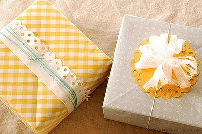 more doily giftwrap