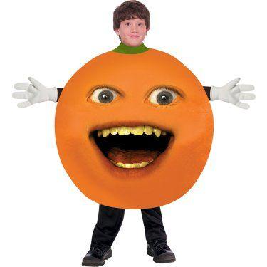 The Annoying Orange Halloween costume