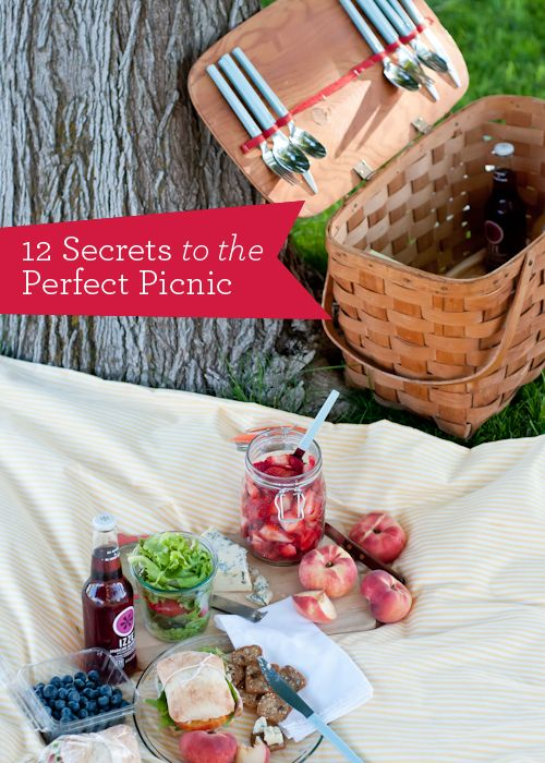 Living Well: 12 Secrets For The Perfect Picnic