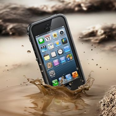 The new Lifeproof Protective iPhone 5 Fre Case -- a must have if you've got kids.