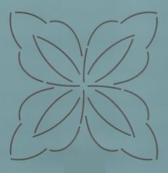 "Fancy Pinwheel #2 - 4"""
