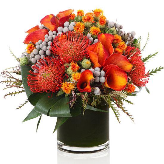 H Bloom Thanksgiving Flower Arrangement