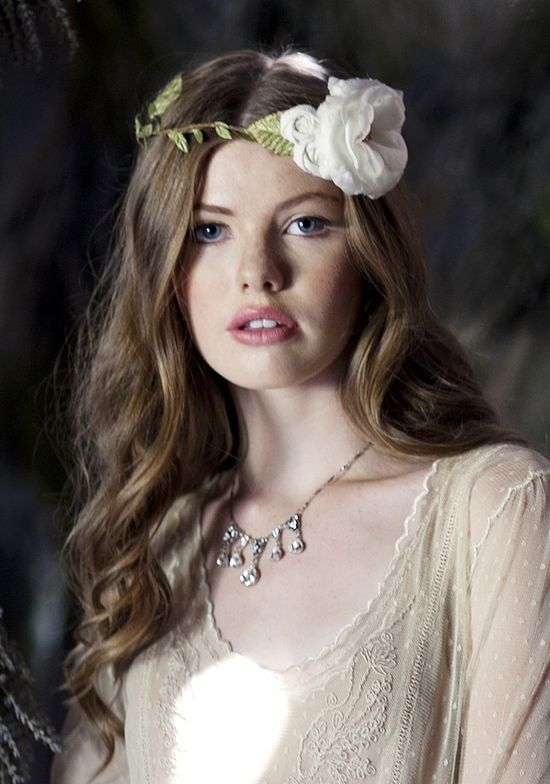 Flower Crown  Ruche Fall 2012 Lace & Lavender Wedding Collection