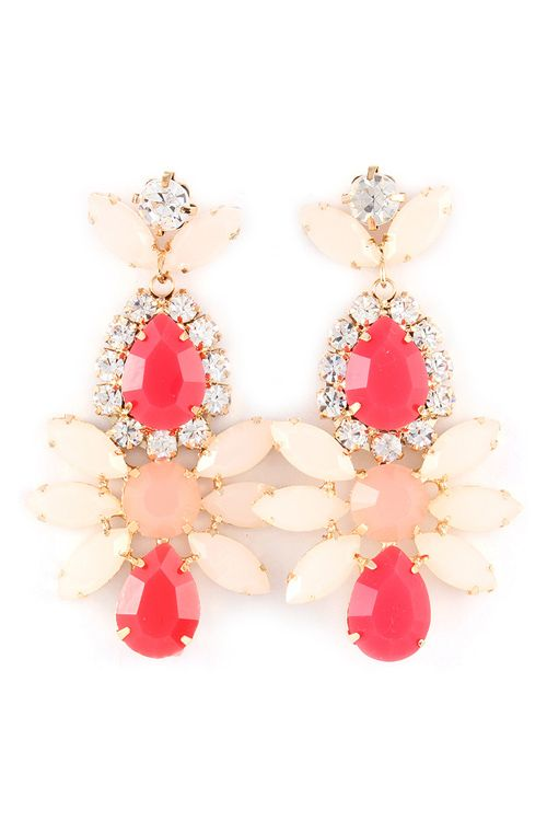 Misha Chandelier Earrings
