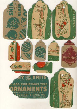 vintage gift tags printable