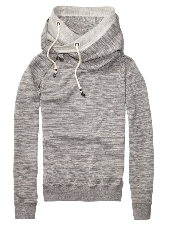 Home Alone Sweater With Double Layer Hood  by scotch #Hoodie #Womens