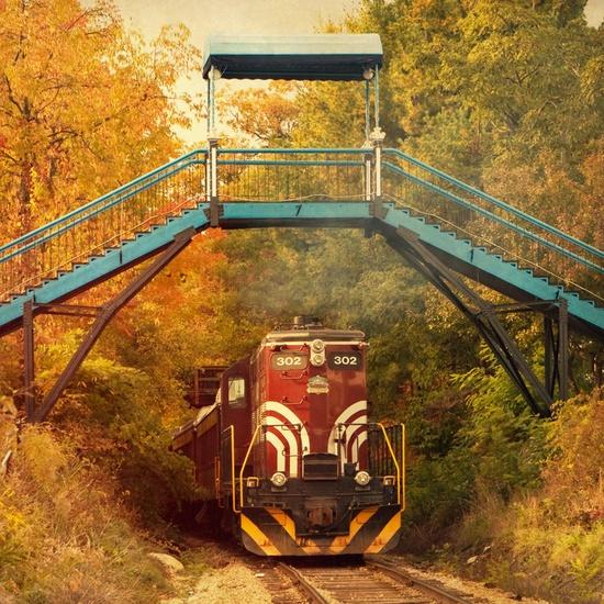 New Hampshire Railroad Train