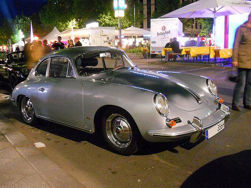 Porsche 356 - silver grey