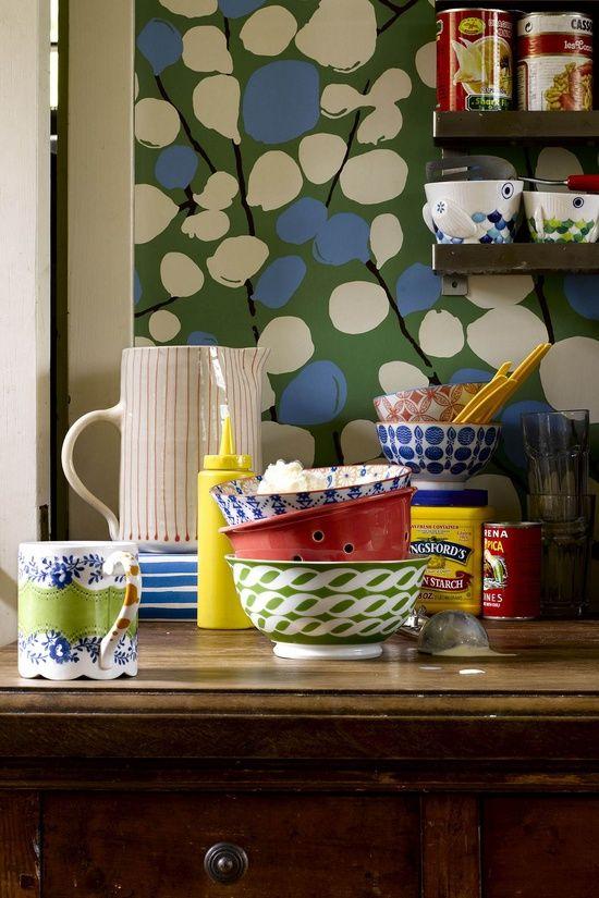 Anthropologie home decor - #home interior design 2012 #home designs #interior design #modern house design #home design ideas
