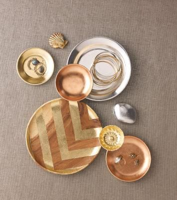 Martha Stewart Crafts® Gilded Chargers #home #interior #decor #utility #kitchenware #beautiful #window