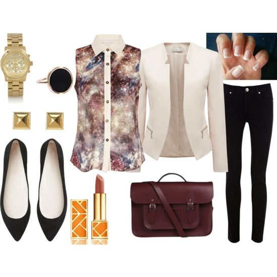 """casual work outfit"" by initag on Polyvore"