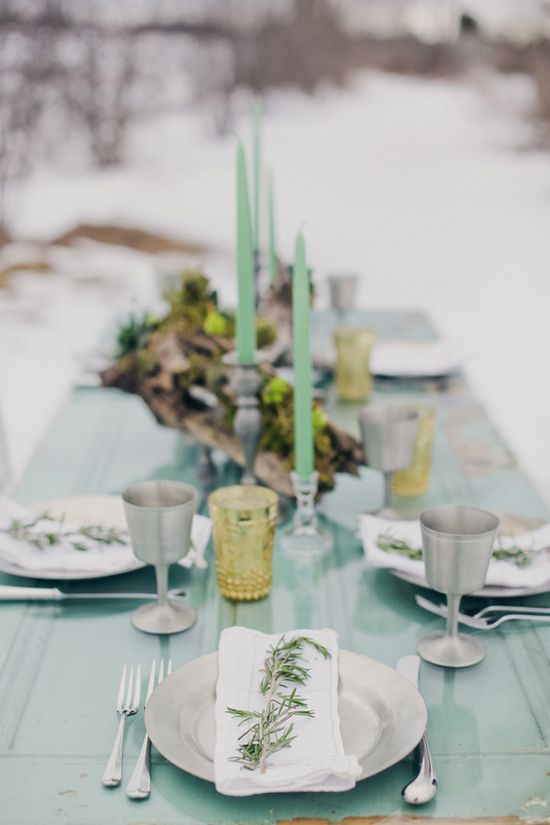 Beautiful Winter Party Ideas www.piccolielfi.it