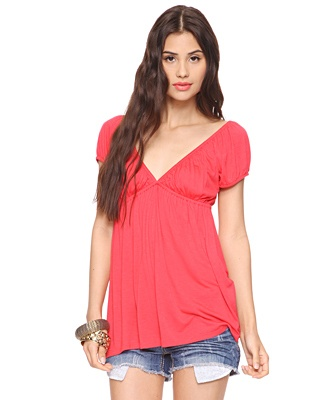 Crochet Back Tunic  #fashion #shopping #clothes #summer #style