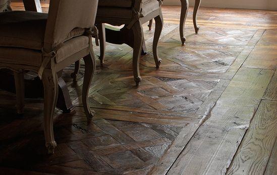 Timeless wood floor