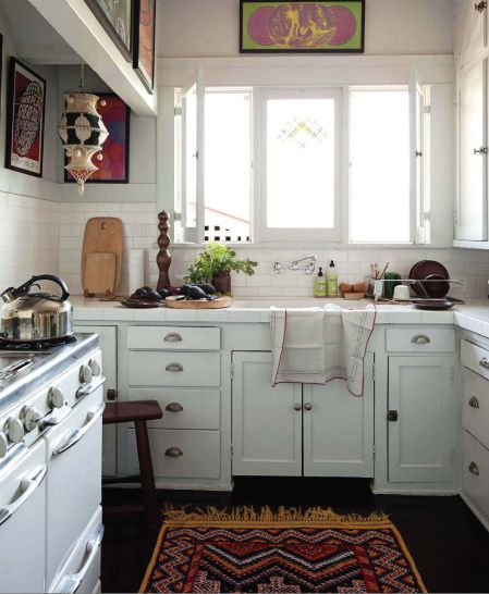 small kitchen with big character