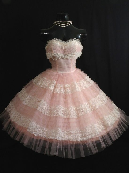 Thats just like my pink dress!