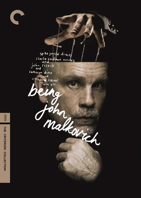 Being John Malkovich, directed by Spike Jonze / speculative Criterion cover by Heath Killen