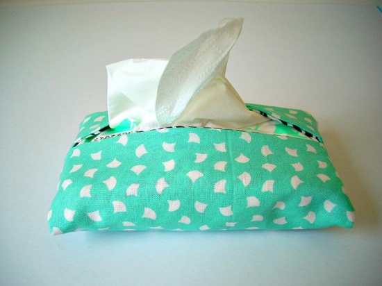 Pocket Tissue Holder Purse And Travel Size by BusyasCanB on Etsy, $3.75