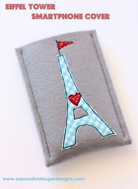 Capinha pra celular - torre Eiffel coisa linda