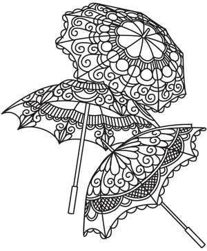 Delicate Parasols |