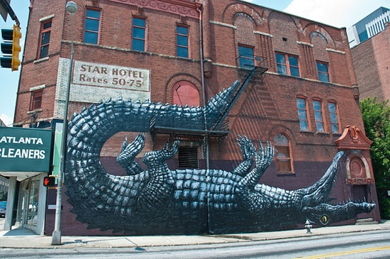 Amazing graffiti - Imgur #streetart #graffiti #art