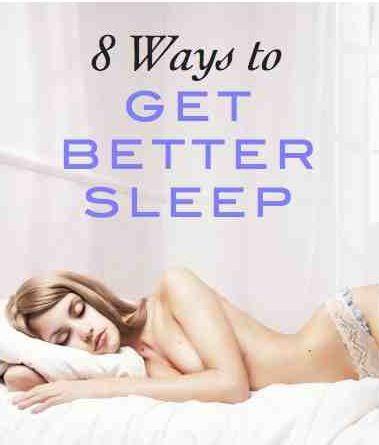 8 ways to get better sleep: expert tips to improve your sleep (super helpful!)