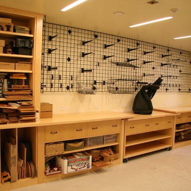 Home Office Workshop Design, Pictures, Remodel, Decor and Ideas
