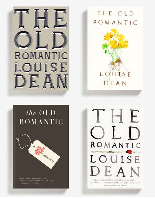 The Old Romantic by Louise Dean, covers by Alex Merto.