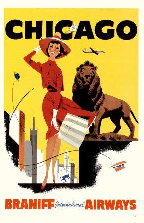 Chicago- Braniff International Airways
