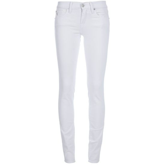RALPH LAUREN skinny jeans ($125) ❤ liked on Polyvore