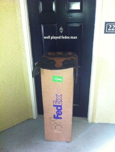 88Gags ».  FedEx left a computer out in plain site of my house one time.  Thanks.