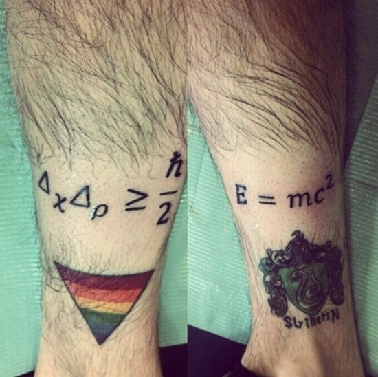 26 Math Tattoos Design: Awesome Math Tattoos Designs ~ Cvcaz Tattoo Art Ideas ~ Tattoo Design Inspiration