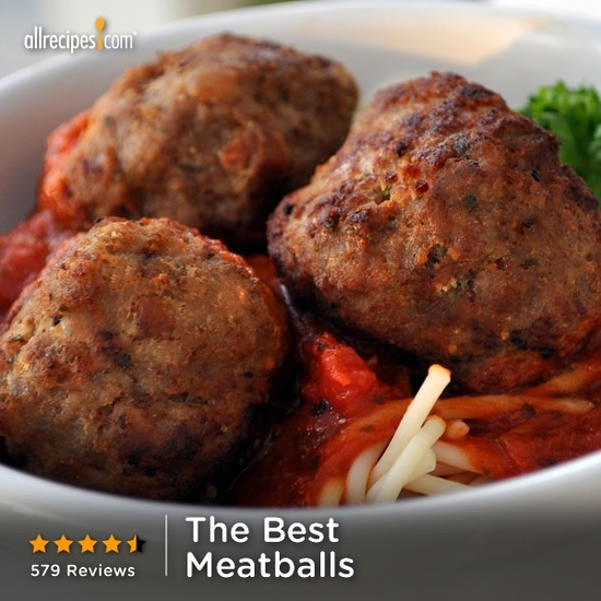 Appetizer meatballs in just 30 minutes. Repin for your #Turkey Day spread. (The Best Meatballs) allrecipes.com/...