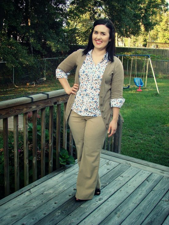 Rebecca Lately // Thrifty Thursday: A Work Outfit