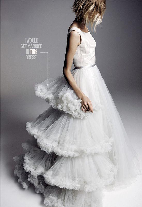 Unique wedding dress!