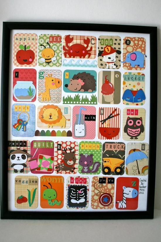 Cricut Alphabet Card Set.  *