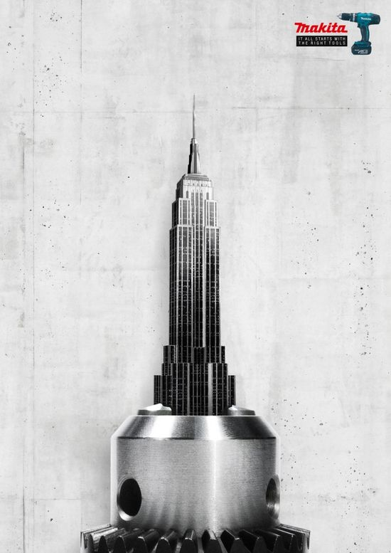 Makita: Empire State Building #Advertising