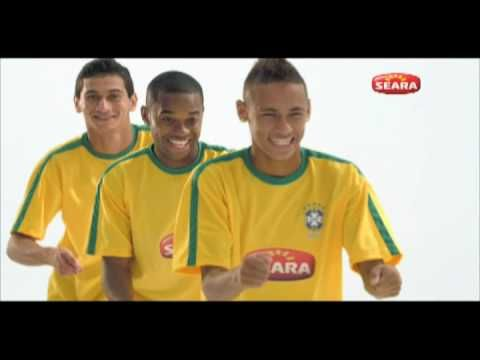 Robinho, Neymar, and Gonso Commercial Funny