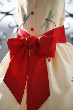 Cute flowergirl dresses by littleeglantine.com