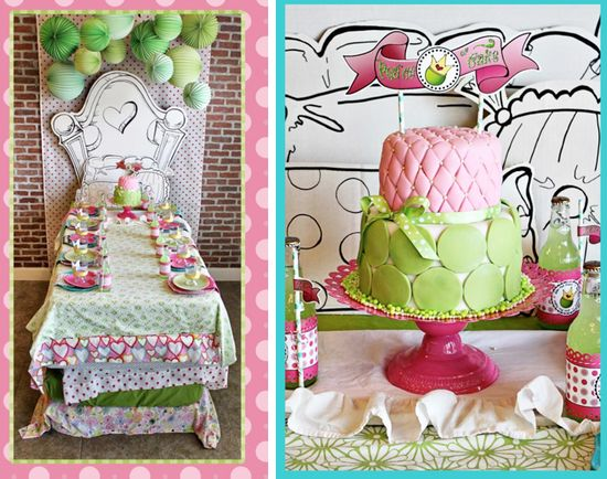 Princess and the Pea Birthday Party Sleepover via Kara's Party Ideas - www.KarasPartyIde...