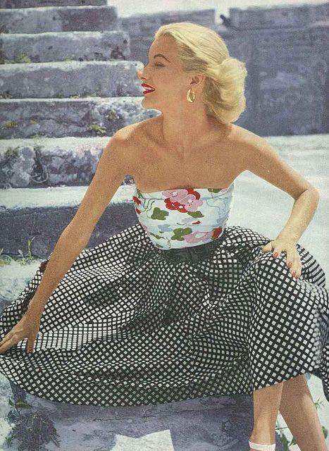 British Vogue, July 1951