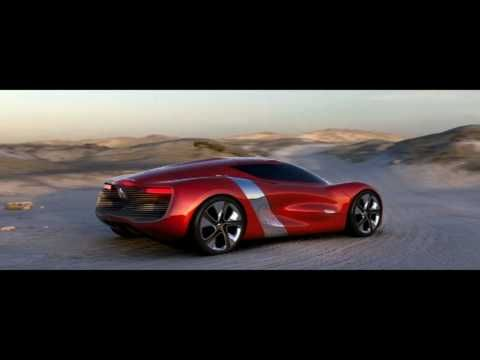 Renault DeZir, future, sports car, vehicle, auto, transportation, futuristic, concept car, automobile, supercar, red, youtube, speed