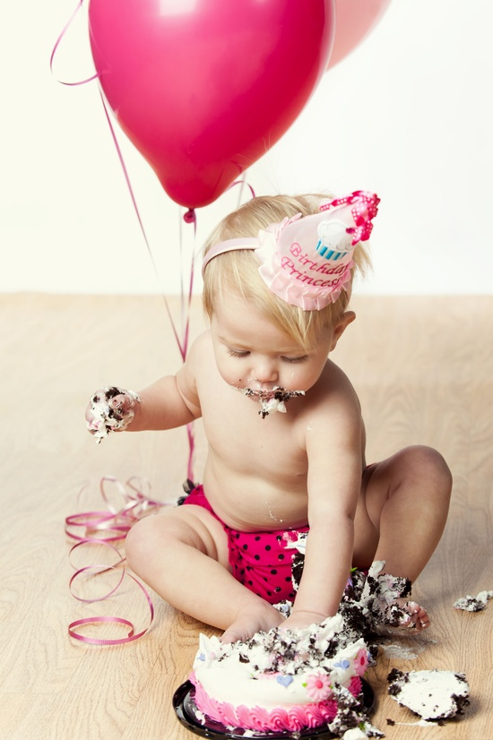 Cute 1st Birthday picture!